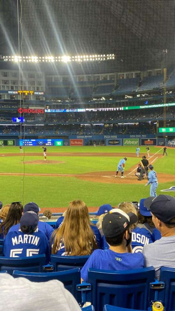 Rogers Centre, section: 124R, row: 12, seat: 5