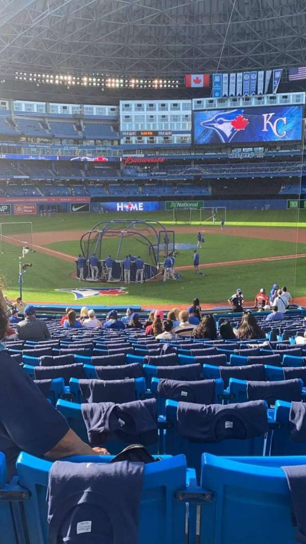 Rogers Centre, section: 120L, row: 27, seat: 6