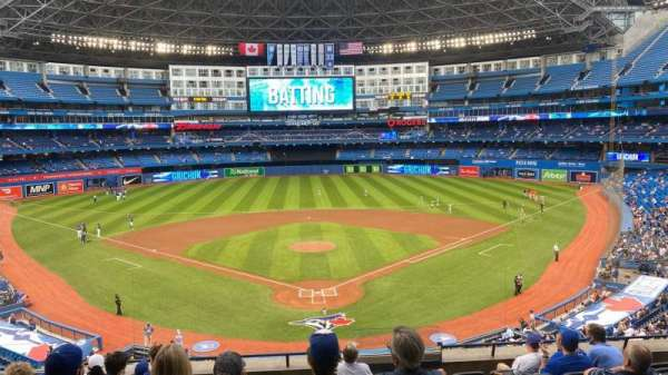 Rogers Centre, section: 224BR, row: 9, seat: 7