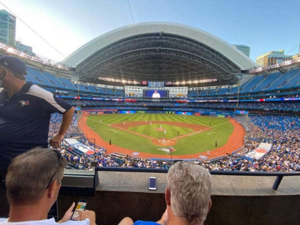 Rogers Centre, section: 224BR, row: 2, seat: 2