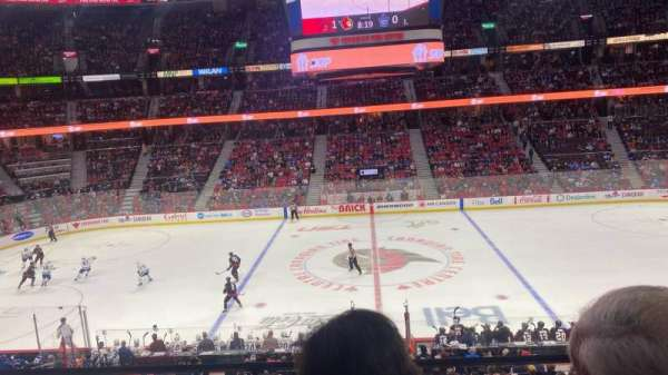 Canadian Tire Centre, section: 208, row: B, seat: 9