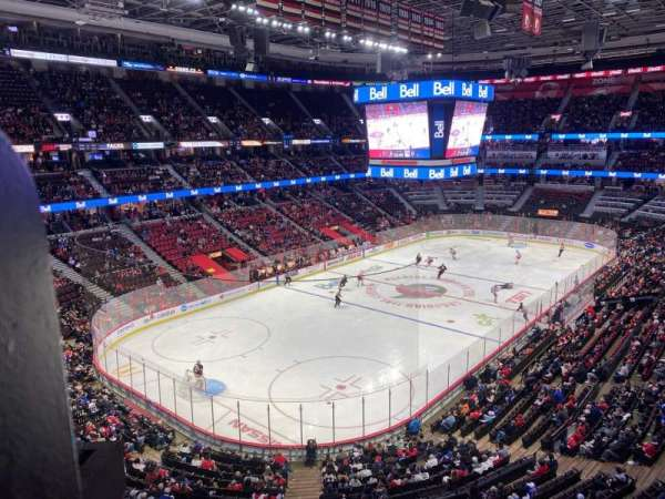 Canadian Tire Centre, section: 326, row: A, seat: 19