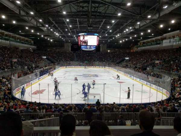 Coca-Cola Coliseum, section: 115, row: J, seat: 18