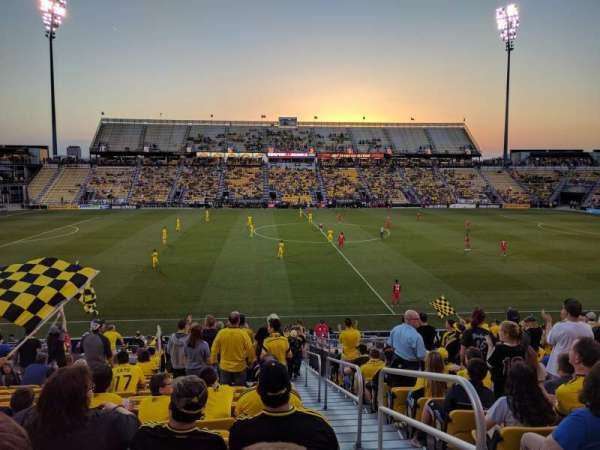 Mapfre Stadium, section: 107, row: 23, seat: 1