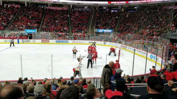 PNC Arena, section: 117, row: M, seat: 3