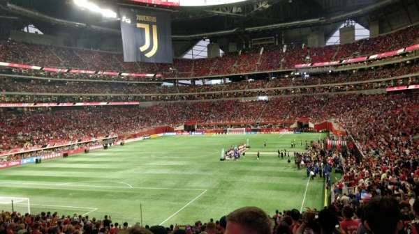 Mercedes-Benz Stadium, section: 134, row: 33, seat: 38