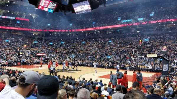 Scotiabank Arena, section: 118, row: 8, seat: 1