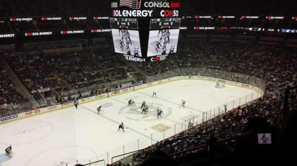 PPG Paints Arena, section: 223, row: C, seat: 8