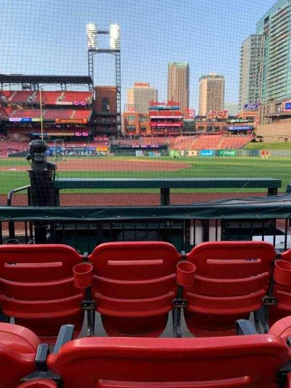 Busch Stadium, section: 142D, row: C, seat: 7