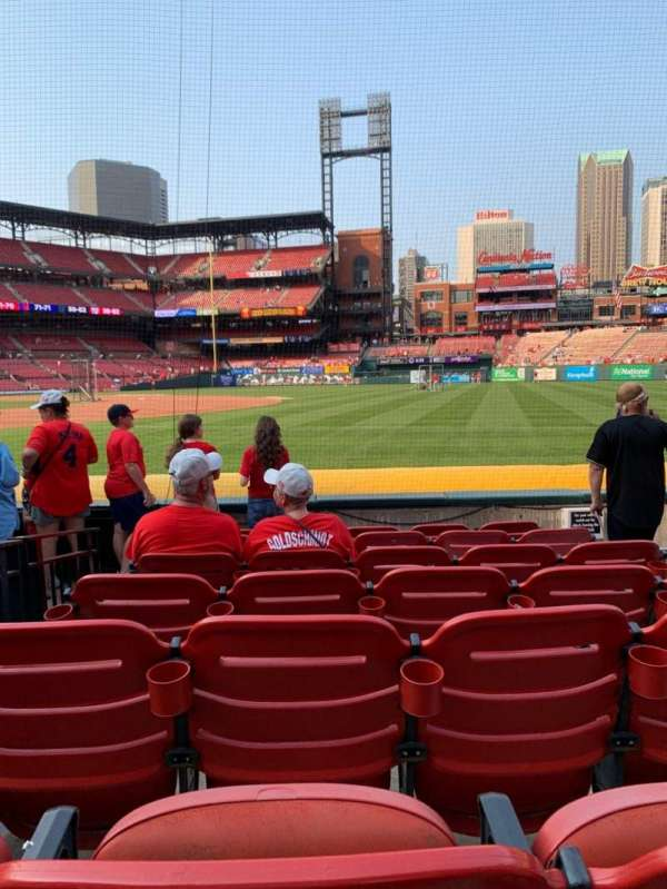 Busch Stadium, section: 139, row: G, seat: 2