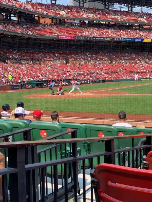 Busch Stadium, section: 145D, row: E, seat: 3