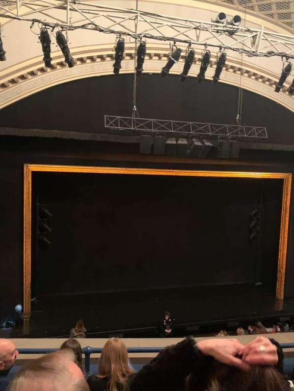 Ambassador Theatre, section: Front Mezzanine LC, row: D, seat: 117