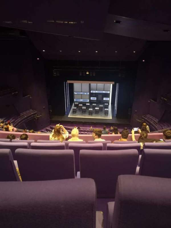 The Lowry, section: Upper circle, row: L, seat: 15