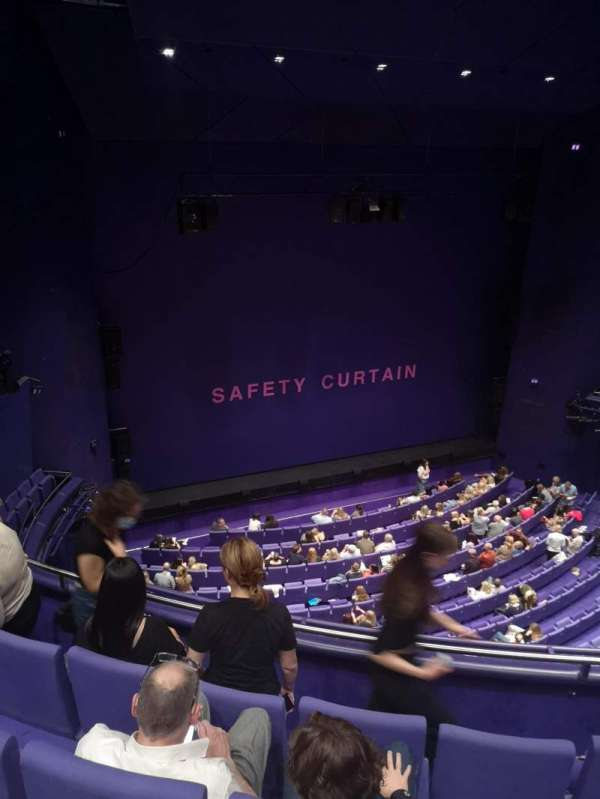 The Lowry, section: Upper circle, row: C, seat: 33