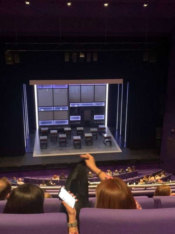 The Lowry, section: Upper circle, row: E, seat: 27