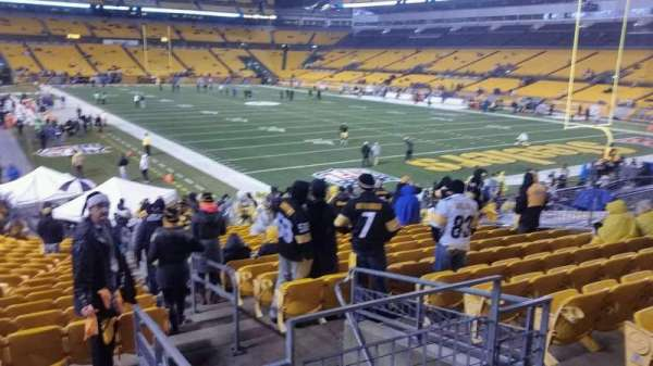 Heinz Field, section: 143, row: N, seat: 2