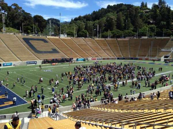 California Memorial Stadium, section: E, row: 37, seat: 10