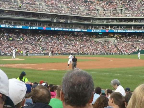 Comerica Park, section: 117, row: 15, seat: 09