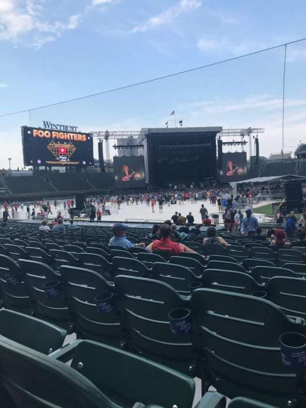Wrigley Field, section: 112, row: 6, seat: 14