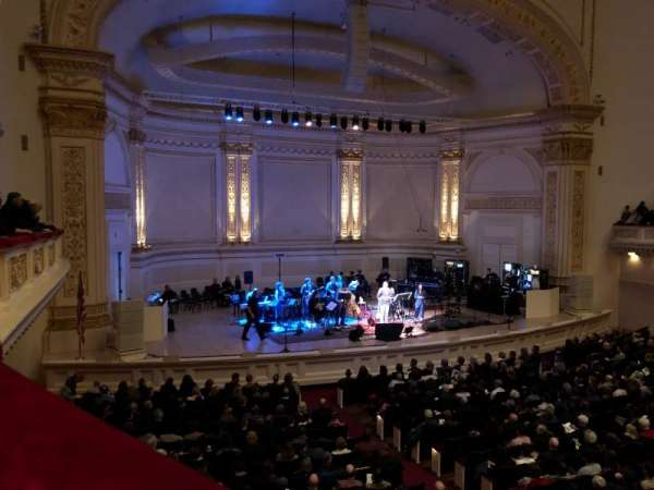 Carnegie Hall, section: Box 47, row: 1, seat: 3