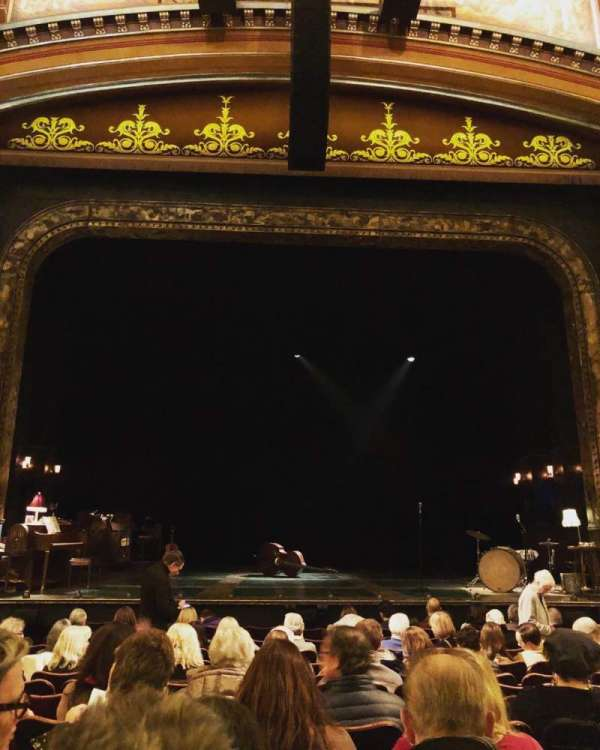 Belasco Theatre, section: Orchestra C, row: L, seat: 107
