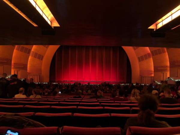 Radio City Music Hall, section: Orchestra 4, row: W, seat: 408