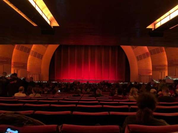 Radio City Music Hall, section: Orchestra 4, row: W, seat: 408