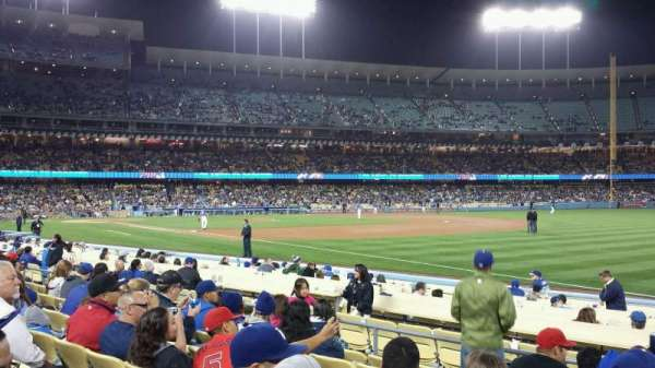 Dodger Stadium, section: 40FD, row: G, seat: 5