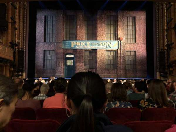 al hirschfeld theatre, section: Mezz c, row: P, seat: 109