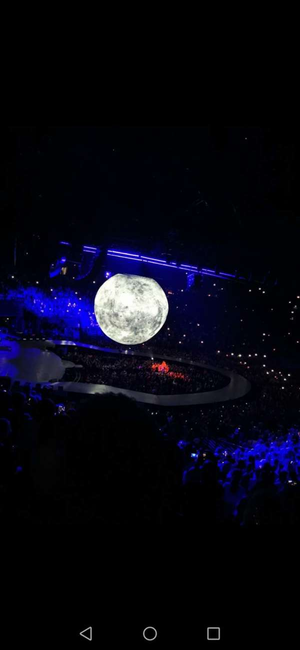 AccorHotels Arena, section: M, row: 03, seat: 20