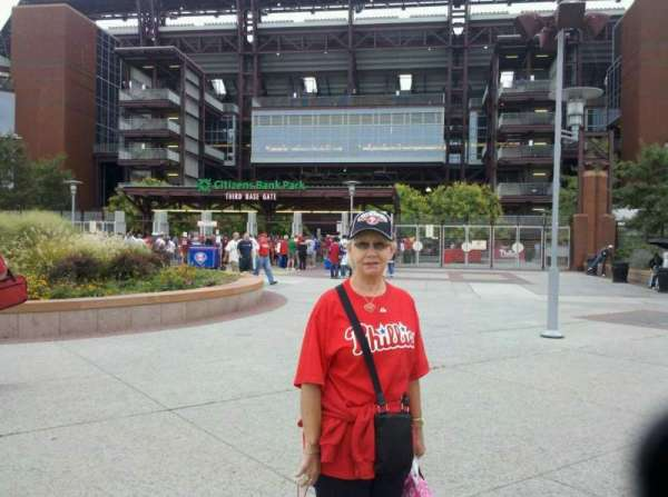 Citizens Bank Park, section: Third Base Gate