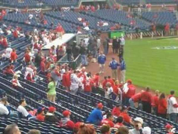 Citizens Bank Park, section: 108, row: 25, seat: 14