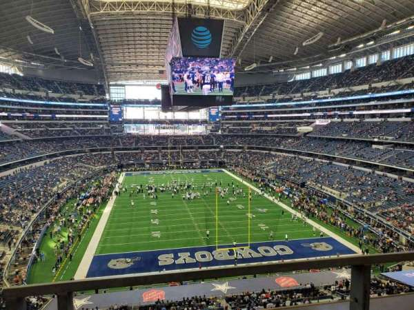 AT&T Stadium, section: 349, row: 1, seat: 4-5