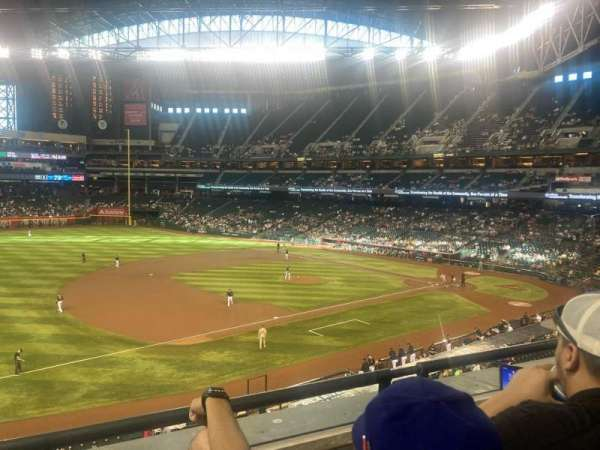 Chase Field, section: 215, row: 2, seat: 12