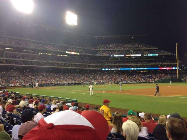 Citizens Bank Park, section: 113, row: 10, seat: 8