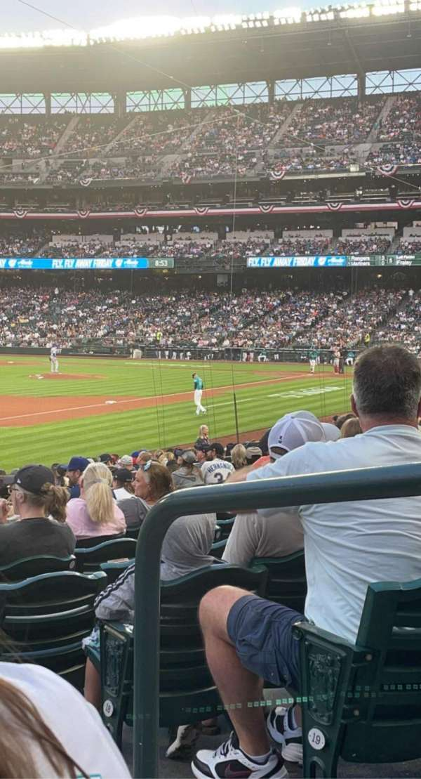 T-Mobile Park, section: 144, row: 21, seat: 2