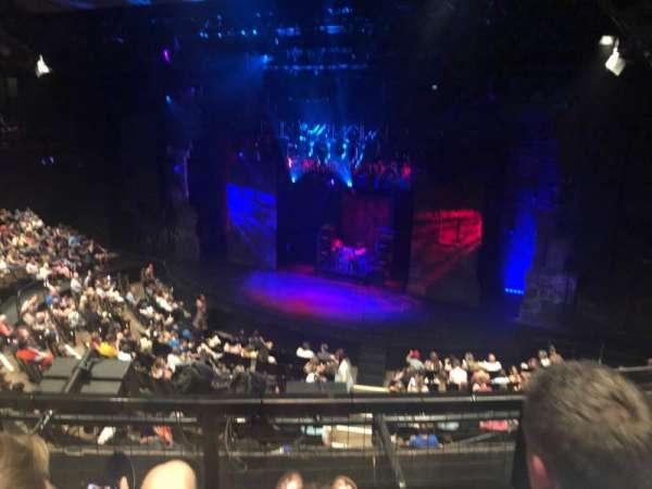 Gillian Lynne Theatre, section: Dress circle, row: B, seat: 22
