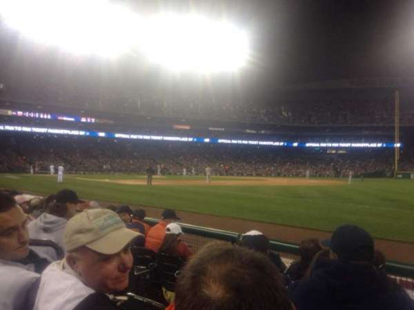 Comerica Park, section: 116, row: 5, seat: 20