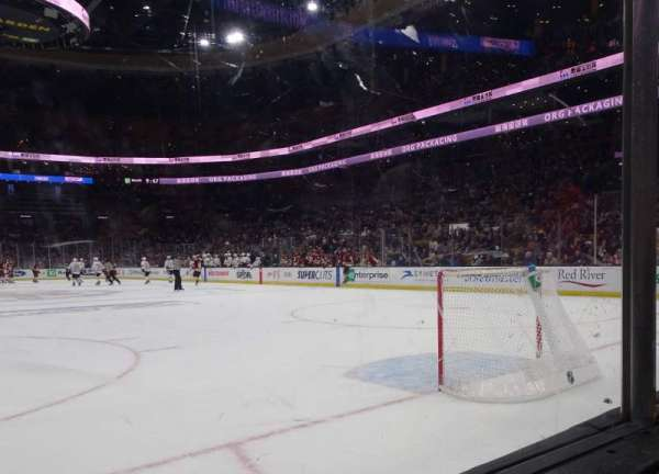 TD Garden, section: Loge 7, row: 1, seat: 8