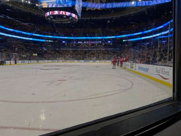 TD Garden, section: Loge 5, row: 1, seat: 5