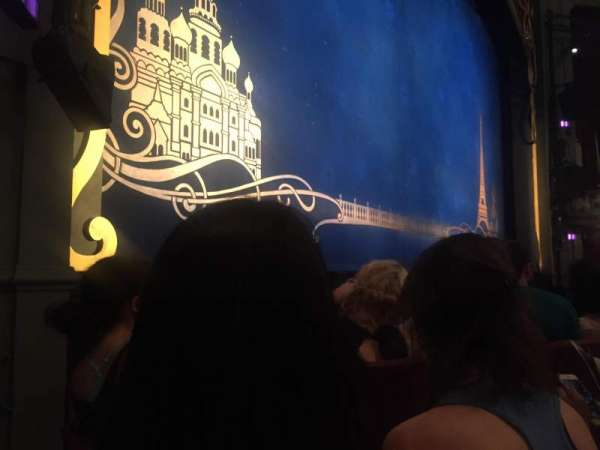 Broadhurst Theatre, section: Orchestra L, row: C, seat: 13