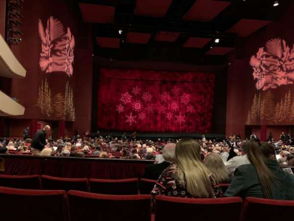 San Diego Civic Theatre, section: Dress circle , row: D, seat: 23