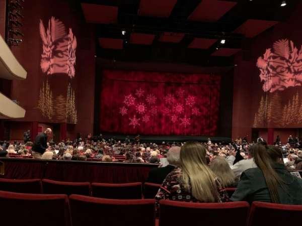 San Diego Civic Theatre, section: Dress Circle L1, row: D, seat: 23