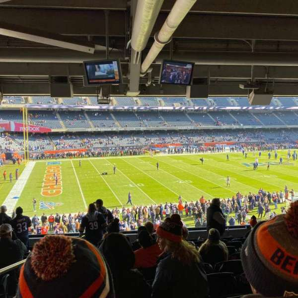 Soldier Field, section: 242, row: 11, seat: 1