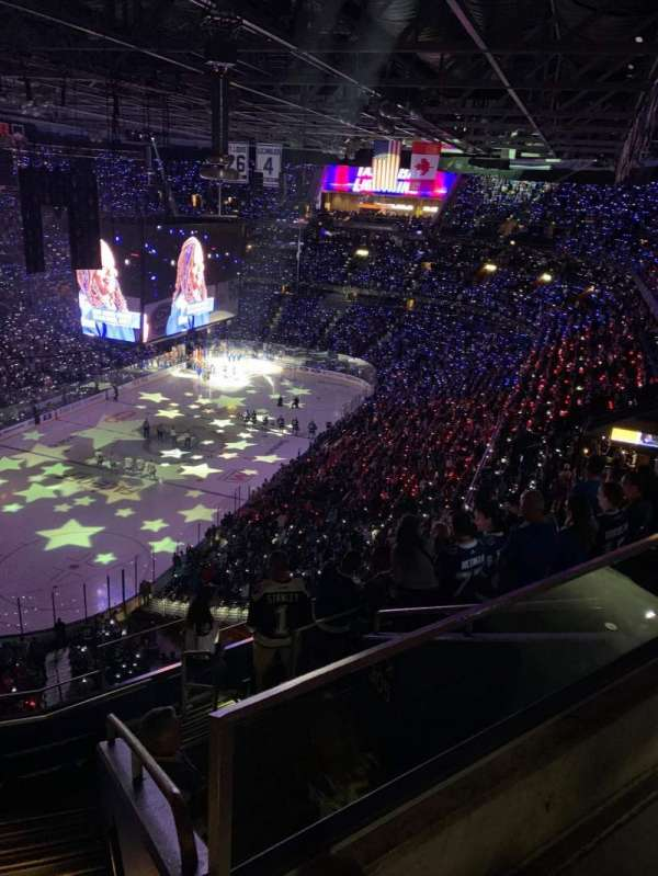 Amalie Arena, section: 306, row: H, seat: 1