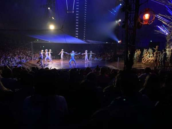 Cirque du Soleil Big Tent, section: 206, row: K, seat: 4