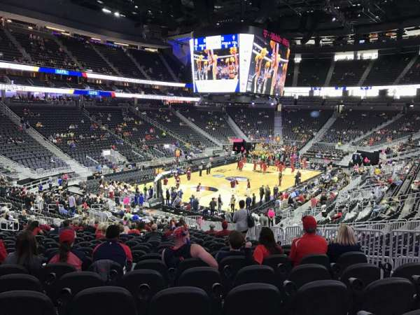 T-Mobile Arena, section: 2, row: W, seat: 19