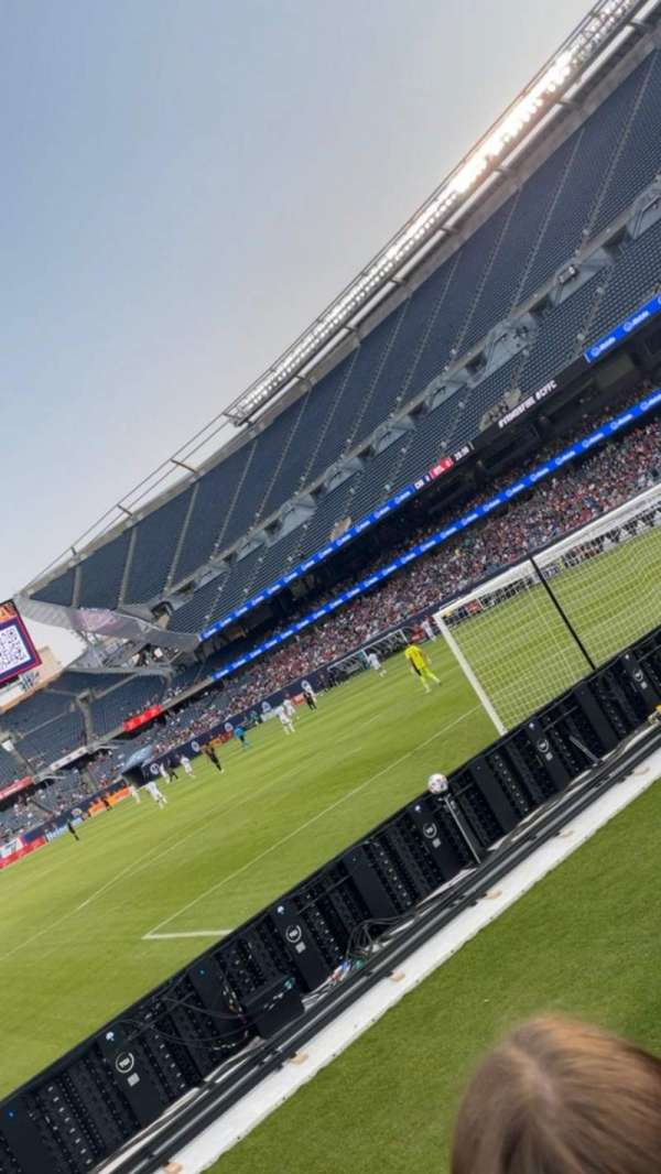 Soldier Field, section: 153, row: 2, seat: 13