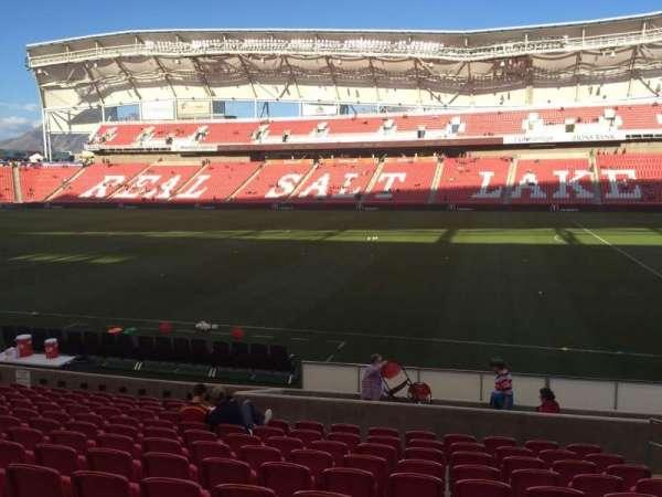 Rio Tinto Stadium, section: 17, row: M, seat: 5