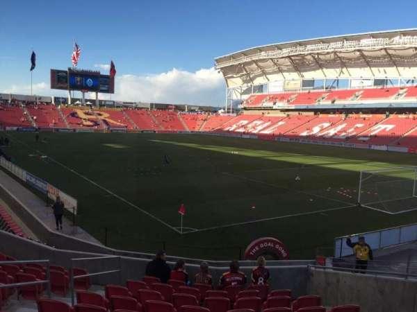 Rio Tinto Stadium, section: 13, row: N, seat: 8